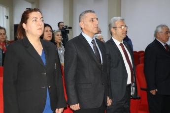 Toros Üniversitesi 45 Evler Konferans Salonunda Türkiye'de Kadın Hakları Konferansına Katılımımız.-01