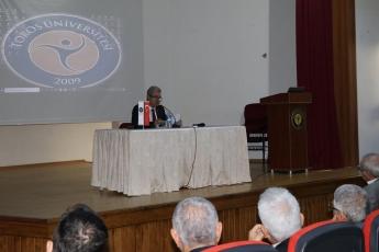 Toros Üniversitesi 45 Evler Konferans Salonunda Türkiye'de Kadın Hakları Konferansına Katılımımız.-02