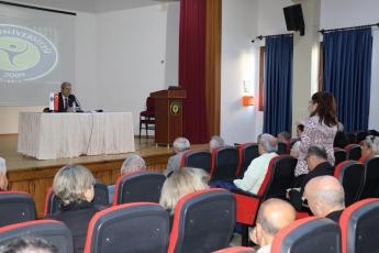 Toros Üniversitesi 45 Evler Konferans Salonunda Türkiye'de Kadın Hakları Konferansına Katılımımız.-03
