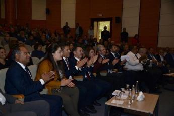 """Mersin Atatürk Kültür Merkezinde """"Akdeniz Bölgesi Büyük Roman Buluşması"""" Toplantısına Katılımımız..-02"""