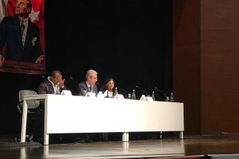 """Mersin Atatürk Kültür Merkezinde """"Akdeniz Bölgesi Büyük Roman Buluşması"""" Toplantısına Katılımımız..-03"""