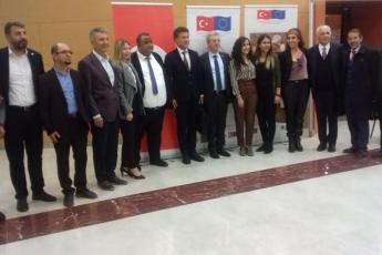"""Mersin Atatürk Kültür Merkezinde """"Akdeniz Bölgesi Büyük Roman Buluşması"""" Toplantısına Katılımımız..-05"""