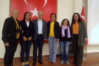 Mersin Büyükşehir Belediyesi Kongre Merkezi'nde Eşitlik ve Adalet Kadın Buluşmasına Katılımımız.-01
