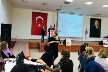 Mersin Büyükşehir Belediyesi Kongre Merkezi'nde Eşitlik ve Adalet Kadın Buluşmasına Katılımımız.-03