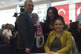 Mersin Büyükşehir Belediyesi Kongre Merkezi'nde Eşitlik ve Adalet Kadın Buluşmasına Katılımımız.-04