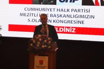 CHP Mezitli İlçe Örgütü Kongresine Katılımımız.-03