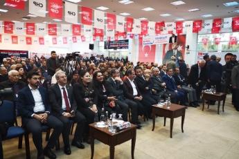 CHP Akdeniz İlçe Örgütü Kongresine Katılımımız.-01