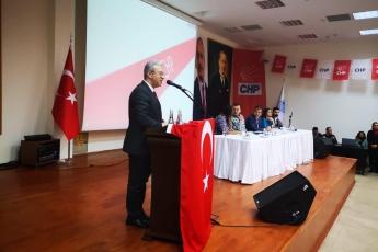 CHP Akdeniz İlçe Örgütü Kongresine Katılımımız.-02