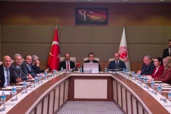 TBMM'de Rabia Naz Komisyonunun Toplantısına Katılımımız.