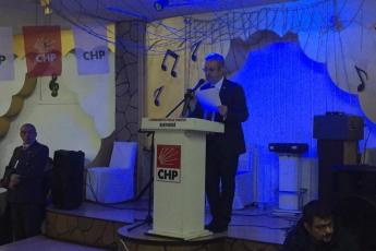 CHP Kayseri Kocasinan İlçe Kongresine Divan Başkanı Olarak Katılımımız.-01