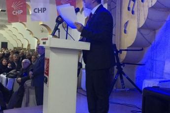 CHP Kayseri Kocasinan İlçe Kongresine Divan Başkanı Olarak Katılımımız.-02