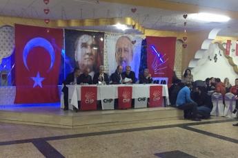 CHP Kayseri Kocasinan İlçe Kongresine Divan Başkanı Olarak Katılımımız.-05
