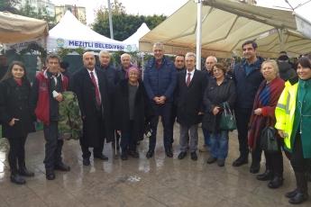 Demokrasi Parkında Mezitli Belediyesinin Yılbaşı Festivali Açılışına Katılımımız.-03