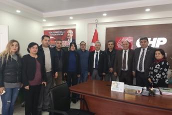 Milletvekilimiz Cengiz Gökçel İle Birlikte CHP Akdeniz İlçe Örgütümüzü Ziyaretimiz.-04