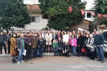 Milletvekilimiz Cengiz Gökçel İle Birlikte CHP Mezitli İlçe Örgütümüzü Ziyaretimiz.-03