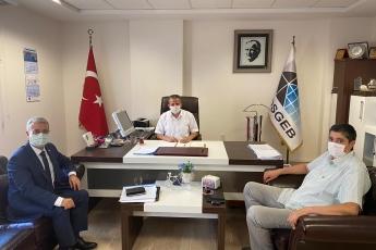 Kosgeb İl Müdürlüğünü Ziyaret Ederek, KOBİ'lerimizin yaşadığı sorunları, çözümleri ve nasıl yatırım yapabileceklerini, projeleri teşvikleri değerlendirdik.