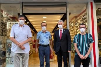 Genel Başkanımız Sayın Kemal Kılıçdaroğlu'nun vermiş olduğu görev doğrultusunda KOBİ'leri İl Başkan Yardımcımız Erdal Taş ile birlikte ziyaret ediyoruz. Takıştır Bujiteri Zincirilerinin Sahibi Abdullah Dutlu'yu Ziyaret Ederek Pandemi sürecinin etkilerini konuştuk.
