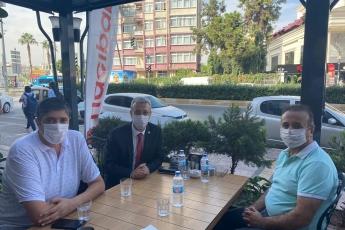 Genel Başkanımız Sayın Kemal Kılıçdaroğlu'nun vermiş olduğu görev doğrultusunda KOBİlerimizi İl Başkan Yardımcımız Erdal Taş ile birlikte ziyaret ediyoruz. Hacıbaba Lokantalar Zincirilerinin Sahibi Şehmuz Ceylan'ı Ziyaret Ederek Pandemi sürecinin etkilerini konuştuk.