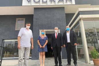 Genel Başkanımız Sayın Kemal Kılıçdaroğlu'nun vermiş olduğu görev doğrultusunda KOBİlerimizi İl Başkan Yardımcımız Erdal Taş ile birlikte ziyaret ediyoruz. Volkan Mobilya Sahibi Volkan Bediroğlu'nu Ziyaret Ederek Pandemi sürecinin etkilerini konuştuk.
