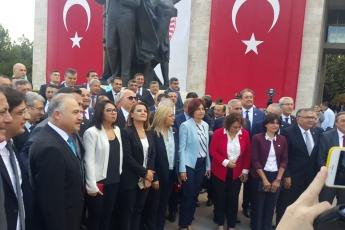 Türkiye Büyük Millet Meclisi 27.Dönem Yasama Yılı Açılış Törenine Katılımımız-02