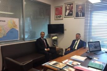 AKP Mersin Milletvekilimiz Sayın Hacı ÖZKAN'ın Ziyareti