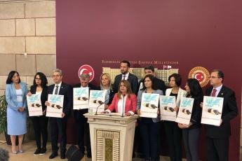 TBMM Basın Toplantı Odası Hayvan Hakları Kanun Teklifi Basın Açıklamasına Katılımımız