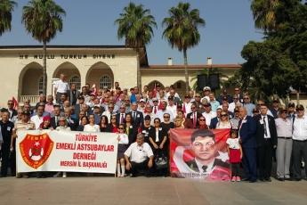 Mersin TEMAD'ın 34üncü Kuruluş Yıldönümü ve Dünya Assubaylar Günü Törenine Katılımımız-03