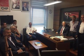 Mersin Mezitli Belediyesi Muhtarlarımızın Ankara'da TBMM,CHP Grup ve Milletvekillerini Ziyaretleri-03