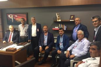 Mersin Mezitli Belediyesi Muhtarlarımızın Ankara'da TBMM,CHP Grup ve Milletvekillerini Ziyaretleri-04