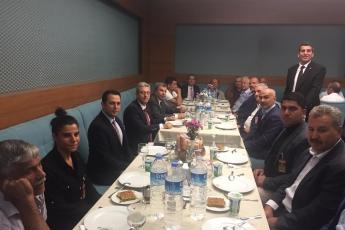Mersin Mezitli Belediyesi Muhtarlarımızın Ankara'da TBMM,CHP Grup ve Milletvekillerini Ziyaretleri-05