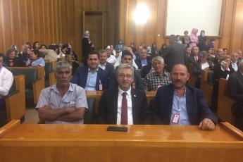 Mersin Mezitli Belediyesi Muhtarlarımızın Ankara'da TBMM,CHP Grup ve Milletvekillerini Ziyaretleri-06