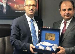 Malatya Baro Başkanı Avukat Enver HAN'ın TBMM'de Ziyareti