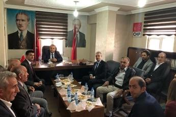 CHP Hakkari İl ve İlçe Başkanlıklarını Ziyaretimiz-01