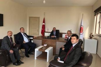 Hakkari Baro Başkanı Av. Zeydin KAYA'ya CHP İl ve İlçe Başkanları ile Birlikte Nezaket Ziyaretimiz