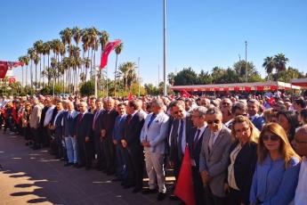 Cumhuriyet Meydanı CHP İl Başkanlığı 29 Ekim Cumhuriyet Bayramı Çelenk Koyma Töreni ve Cumhuriyet Yürüyüşüne Katılımımız-02