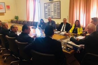 TBMM'de CHP Adalet ve Anayasa Komisyonu Hukukçu Üyeleri İle Ortak Toplantıya Katılımımız.-01