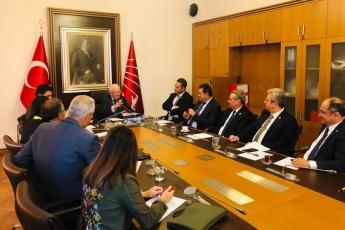 TBMM'de CHP Adalet ve Anayasa Komisyonu Hukukçu Üyeleri İle Ortak Toplantıya Katılımımız.-03