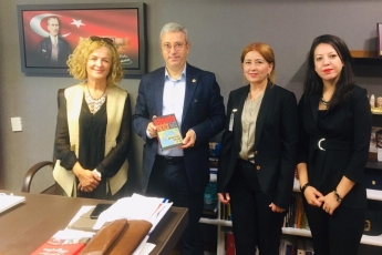 Ankara Ankara Çerkes Derneği Yönetiminin TBMM'de Bizi Ziyaretleri
