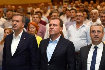 19 Ekim Muhtarlar Günü Münasebetiyle Mersin Büyükşehir Belediyesinin Düzenlediği Muhtarlar Toplantısına Katılımımız.-02
