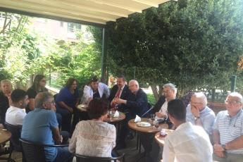 Genel Başkan Yardımcımız ve Milletvekilimiz Yunus Emre, İstanbul Milletvekilimiz İbrahim Kaboğlu, İl Başkanımız Adil Aktay, Parti Örgütümüz ve Kültür Eski Bakanımız Ercan Karakaş ile birlikte Kültürhane'yi ziyaretimiz.-02