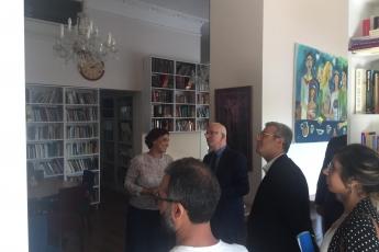 Genel Başkan Yardımcımız ve Milletvekilimiz Yunus Emre, İstanbul Milletvekilimiz İbrahim Kaboğlu, İl Başkanımız Adil Aktay, Parti Örgütümüz ve Kültür Eski Bakanımız Ercan Karakaş ile birlikte Kültürhane'yi ziyaretimiz.-03
