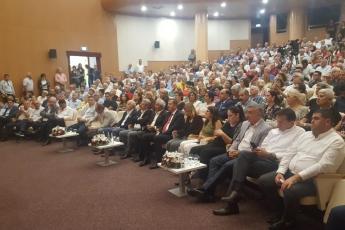 Genel Başkan Yardımcımız ve Milletvekilimiz Yunus Emre, İstanbul Milletvekilimiz İbrahim Kaboğlu, İl Başkanımız Adil Aktay, Parti Örgütümüz ve Kültür Eski Bakanımız Ercan Karakaş ile birlikte 'Acil Demokrasi' paneline katılımımız.-02
