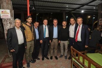 Mersin Büyükşehir Belediyemizin Öncülüğünde, Tarsus'ta Bu Yıl 3. Kez Düzenlenen Gastronomi Günleri'nin ikinci Gününün Akşam Yemeğine Katılımımız.-02