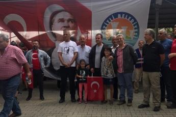 Mezitli Belediyemizin Düzenlediği, Akarca'dan Başlayarak Doğançay'da Sona Eren Cumhuriyet Doğa Yürüyüşüne Katılımımız.-04
