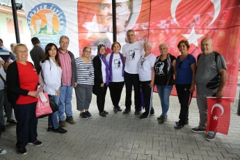 Mezitli Belediyemizin Düzenlediği, Akarca'dan Başlayarak Doğançay'da Sona Eren Cumhuriyet Doğa Yürüyüşüne Katılımımız.-06