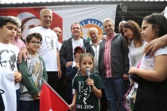 Mezitli Belediyemizin Düzenlediği, Akarca'dan Başlayarak Doğançay'da Sona Eren Cumhuriyet Doğa Yürüyüşüne Katılımımız.-09