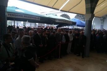 Hakkari'deki Alçak Saldırıda Şehit Düşen Mersinli Hemşehrimiz Er Mustafa Korkmaz'ı Son Yolculuğuna Uğurlamamız.-02