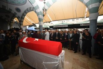 Hakkari'deki Alçak Saldırıda Şehit Düşen Mersinli Hemşehrimiz Er Mustafa Korkmaz'ı Son Yolculuğuna Uğurlamamız.-04