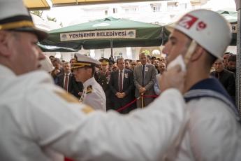 Hakkari'deki Alçak Saldırıda Şehit Düşen Mersinli Hemşehrimiz Er Mustafa Korkmaz'ı Son Yolculuğuna Uğurlamamız.-05