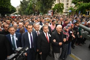 Hakkari'deki Alçak Saldırıda Şehit Düşen Mersinli Hemşehrimiz Er Mustafa Korkmaz'ı Son Yolculuğuna Uğurlamamız.-06